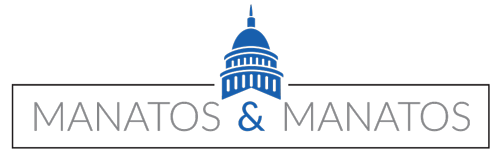 Manatos & Manatos Logo
