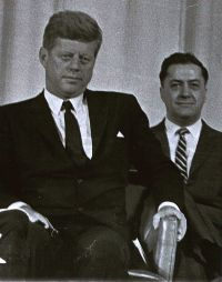 Mike Manatos & President Kennedy
