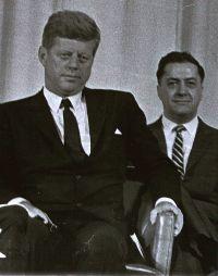 Mike Manatos & President Kennedy
