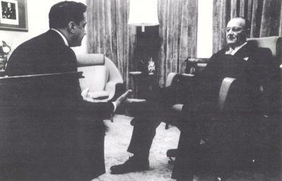Manatos & President Johnson