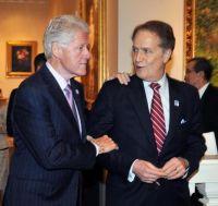 Manatos & President Clinton