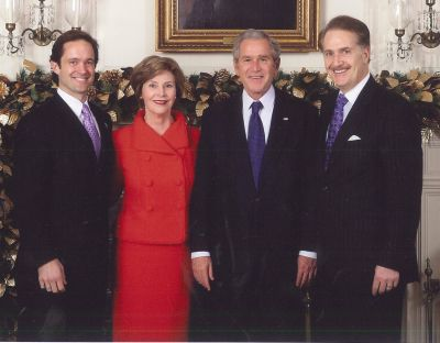 Manatos & President Bush